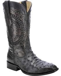 Corral Men's Ostrich Exotic Boots, , hi-res