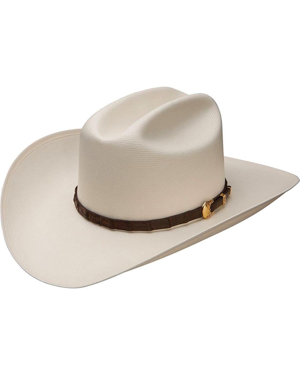 Stetson Evilla De Oro 1000X Straw Cowboy Hat, Natural, hi-res