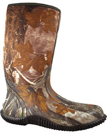 Smoky Mountain Men's Camo Amphibian Rain Boots - Round Toe , , hi-res