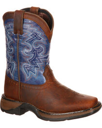 Durango Toddler Boys' Two Toned Western Boots, , hi-res