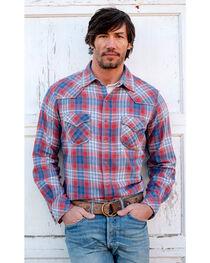 Ryan Michael Men's Frost Jaspe Plaid Shirt, , hi-res
