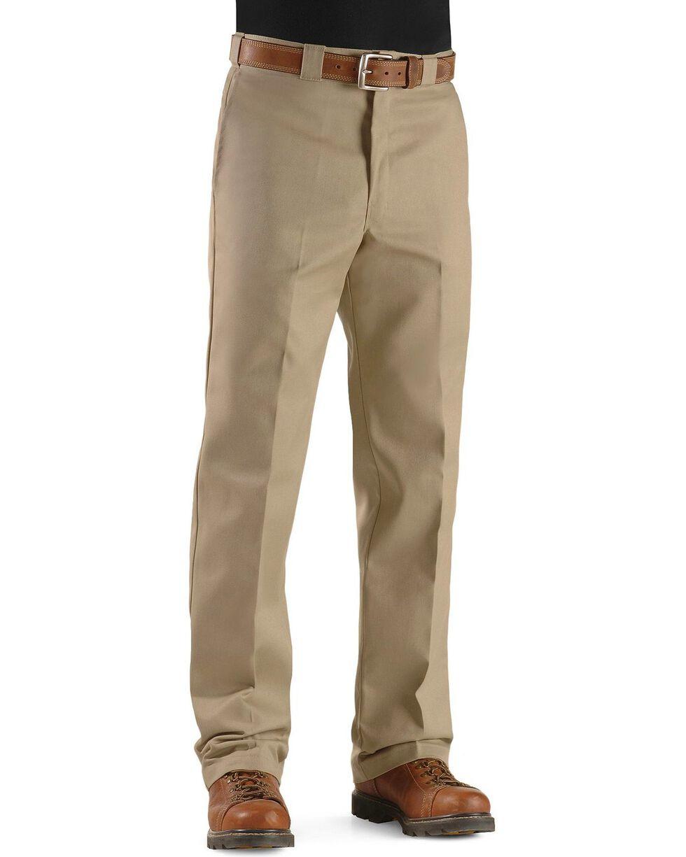 Dickies Men's Original 874 Work Pants, Khaki, hi-res