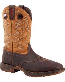 Rebel by Durango Men's Waterproof Steel Toe Western Work Boots, , hi-res