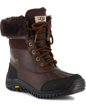 UGG® Women's Adirondack Waterproof Boots, Dark Brown, hi-res