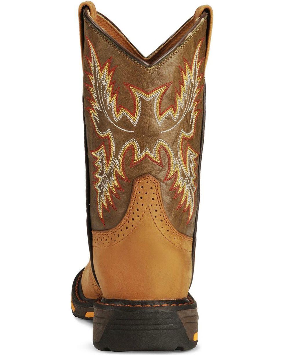 Ariat Kid's Workhog Work Boots, Aged Bark, hi-res