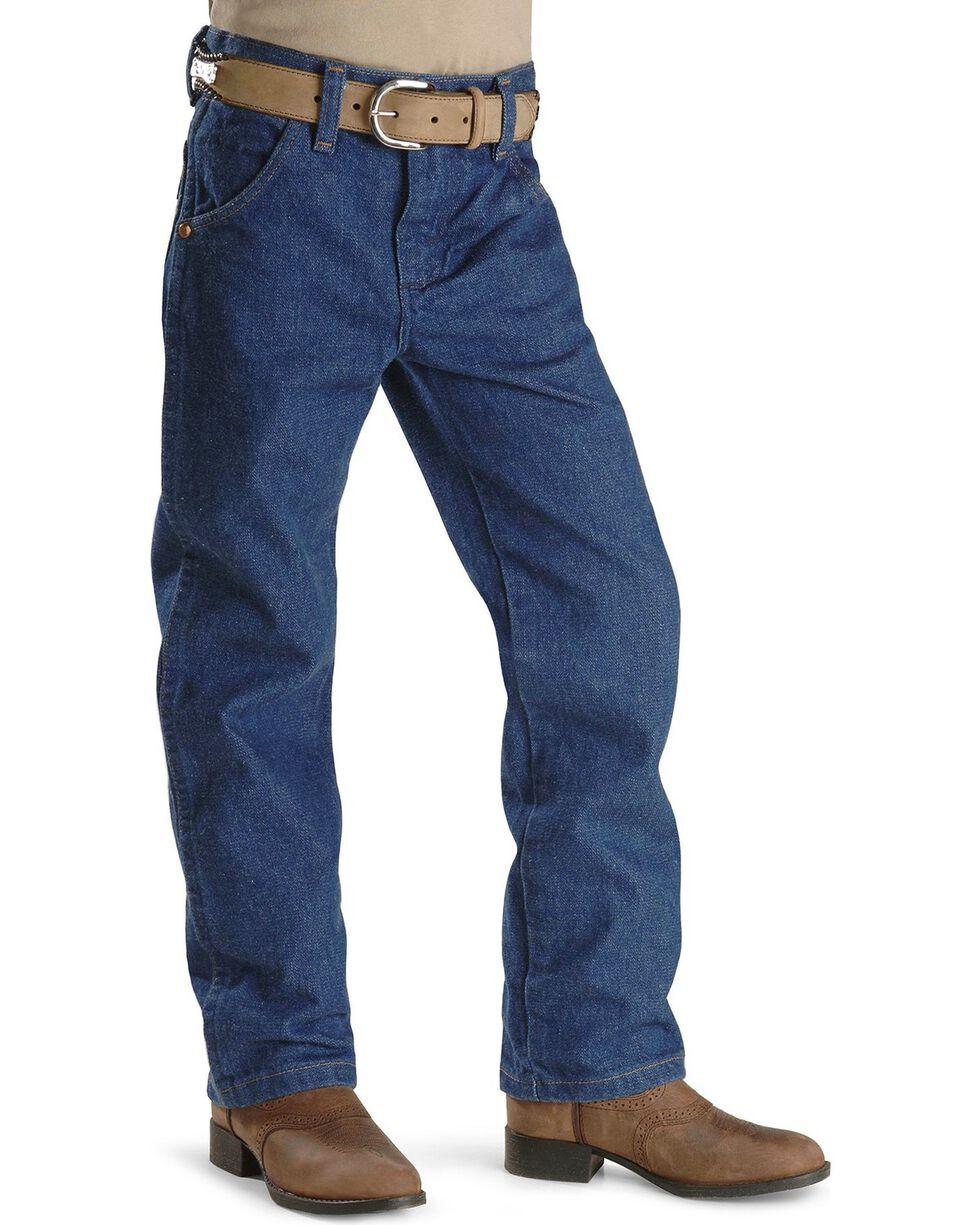 Wrangler Boys' ProRodeo Jeans Size 8-16, Indigo, hi-res
