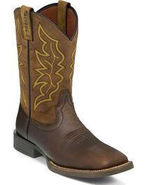 """Justin Men's 11"""" Milled Stampede Western Boots, , hi-res"""