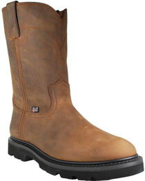 Justin Men's Steel Toe Work Boots, , hi-res