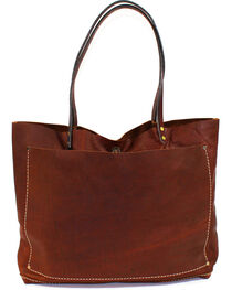 SouthLife Supply Women's Buffalo Brown Unstructured Tote, , hi-res