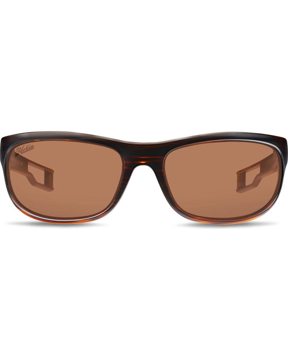 Hobie Men's Copper and Satin Brown Cruz-R Polarized Sunglasses , Brown, hi-res