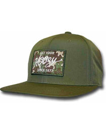 HOOey Men's Green Ripcord Adjustable Hat  , , hi-res