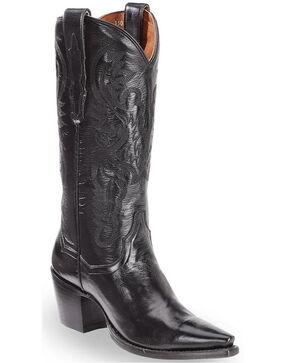 Dan Post Women's Maria Western Boots, Black, hi-res