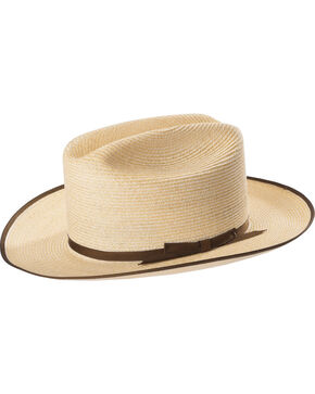 Stetson Men's Natural Hemp Open Road Hat, Natural, hi-res