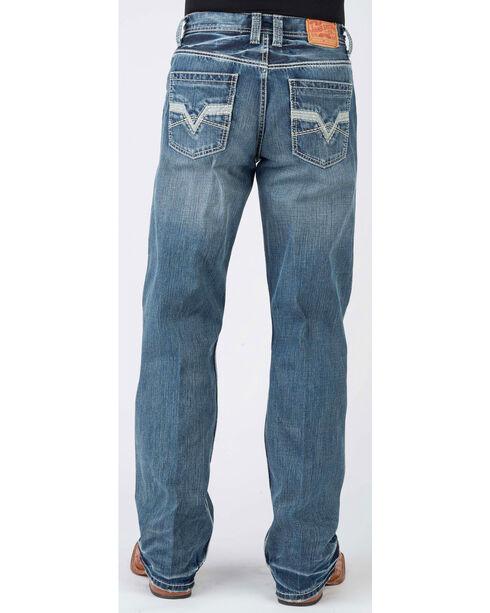 Stetson Men's 1312 Modern Fit Jeans - Boot Cut, Blue, hi-res