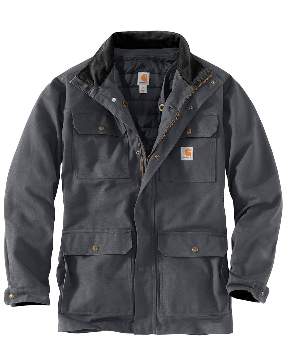 Carhartt Men's Field Coat , Dark Grey, hi-res
