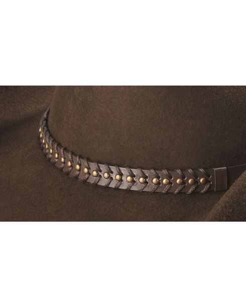 Cody James® Men's Felt Western Hat , Chocolate, hi-res
