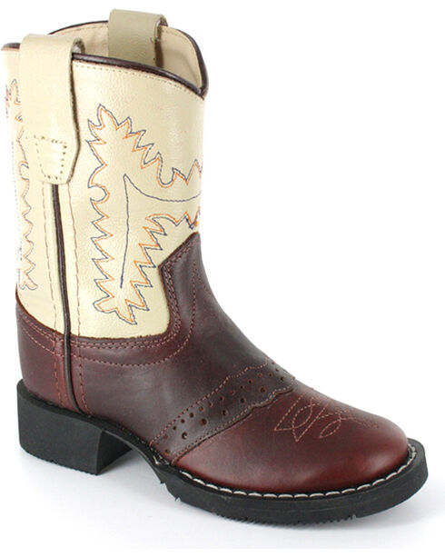 Cody James® Boy's Western Boots, Brown, hi-res