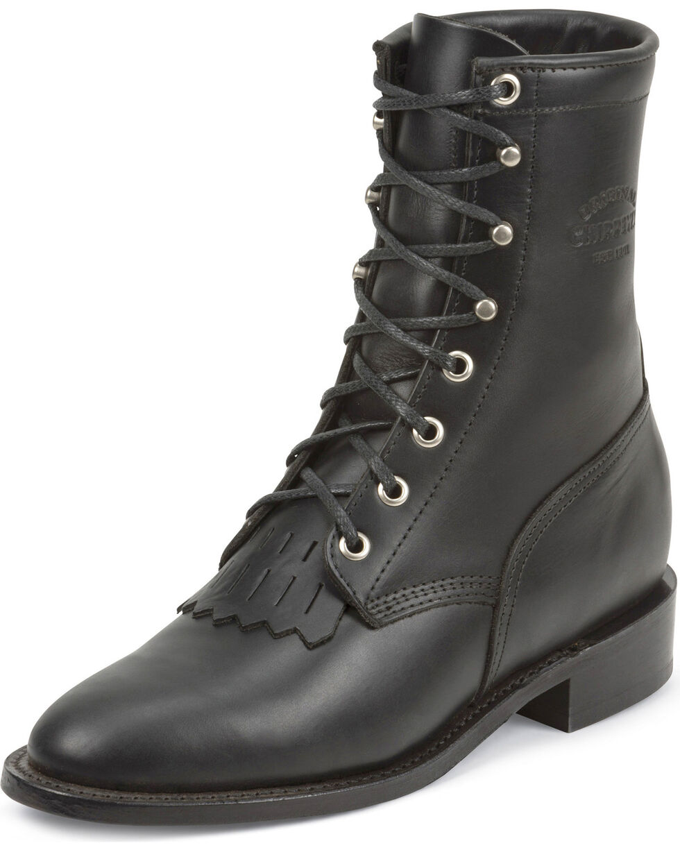 Chippewa Women's Whirlwind Original Lacer Boots, Black, hi-res