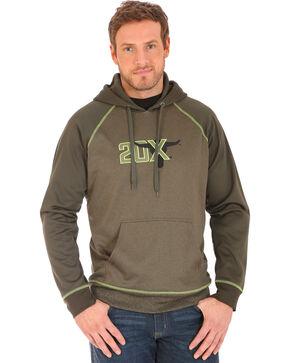 Wrangler Men's 20X Drawstring Hoodie, Green, hi-res