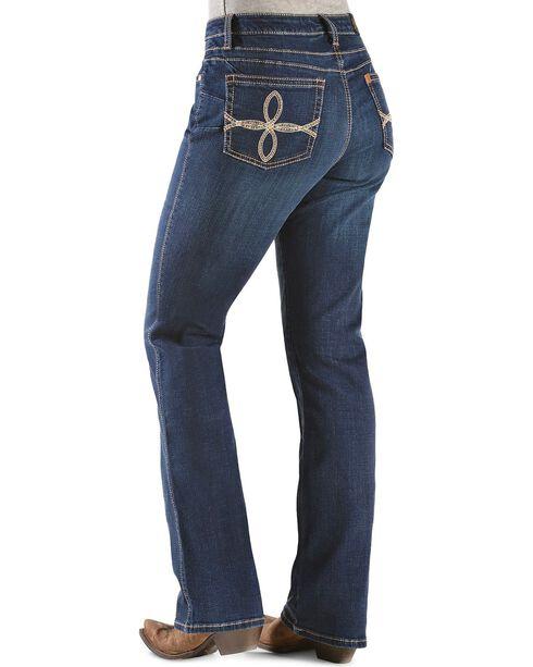 Aura by Wrangler Women's Booty Up Jeans, Denim, hi-res