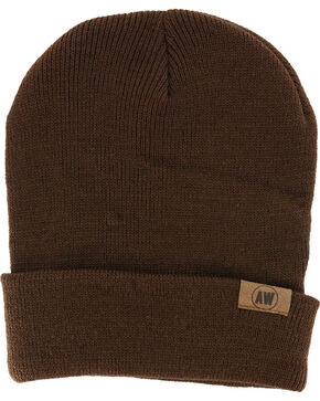 American Worker Knit Beanie, Brown, hi-res