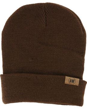 American Worker Knit Beanie, Brown, hi-res