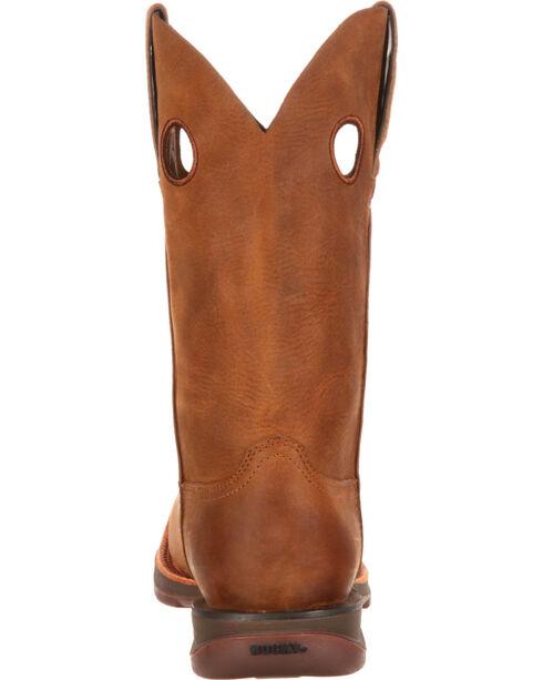 Rocky Men's Brown Roper Western Boots - Square Toe , Brown, hi-res