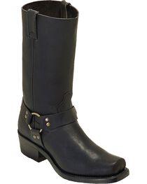 """Boulet Men's 12"""" Broad Square Toe Vibram Harness Boots, , hi-res"""