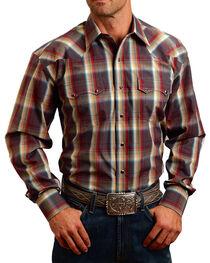 Stetson Men's Sandstone Ombre Long Sleeve Shirt, , hi-res