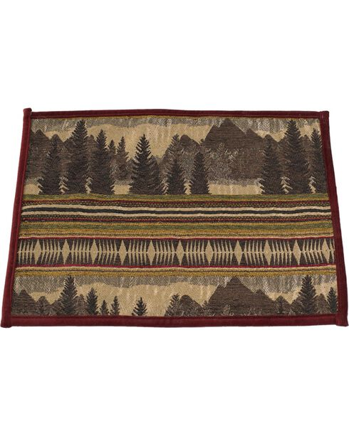 HiEnd Accents Briarcliff Placemats, Multi, hi-res