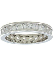 Montana Silversmiths Women's A Path of Star Lights Ring, , hi-res