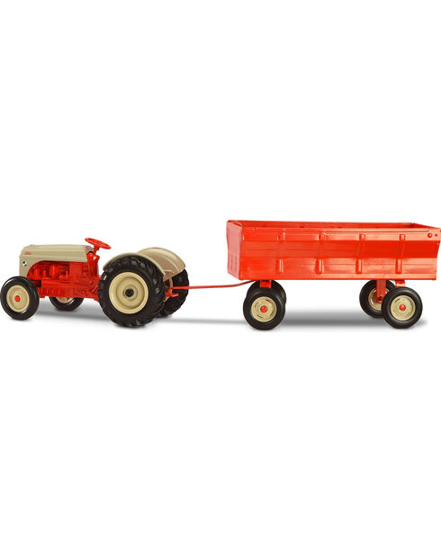 Ertl by Tomy 1/16 Ford 8N Tractor with Flarebox Wagon Toy , Red, hi-res