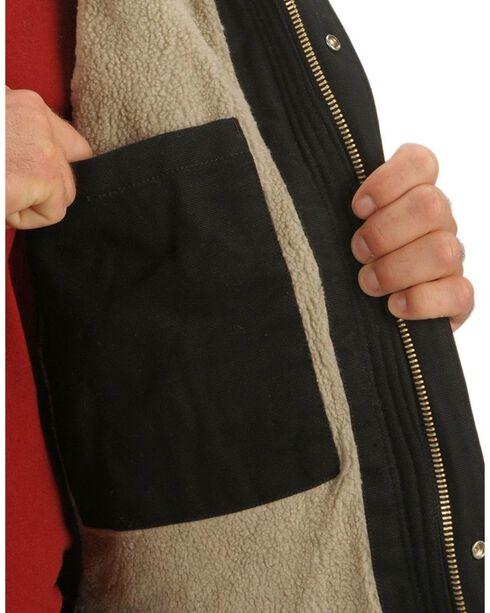 Dickies Sanded Duck Canvas Jacket, Black, hi-res