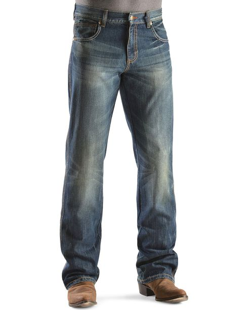 Wrangler Retro Relaxed Fit Dusk Stitch Bootcut Jeans, Dusk, hi-res