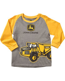 John Deere Boys' Grey Dump Truck T-Shirt , , hi-res