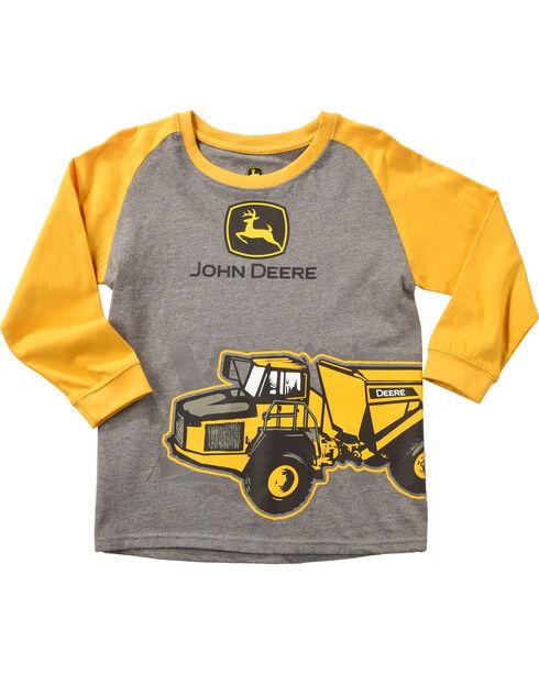 John Deere Boys' Grey Dump Truck T-Shirt , Grey, hi-res