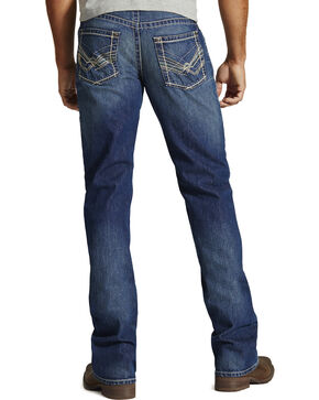 Ariat M6 Rockridge Slim Fit Jeans - Boot Cut - Big and Tall, Denim, hi-res