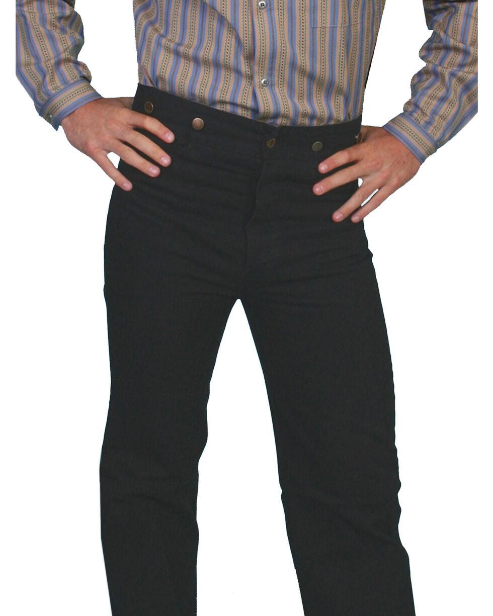 Scully Rangewear Men's Canvas Pants - Big and Tall, Black, hi-res
