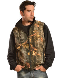 Gibson Trading Co. Men's Camo vest, , hi-res