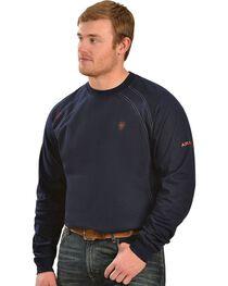 Ariat Men's Knit Fire Resistant Work Crew Long Sleeve, , hi-res