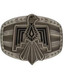 Rock 47 Antiqued Aztec Thunderbird Belt Buckle, , hi-res