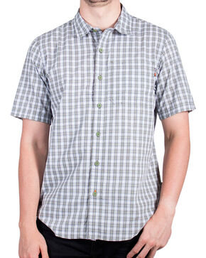 Timberland Pro Men's Plaid Short Sleeve Work Shirt , Olive, hi-res