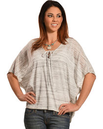 Petrol Women's Short Sleeve Poncho, , hi-res