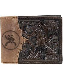 HOOey Men's Roughy Tooled Bi-Fold Wallet, , hi-res