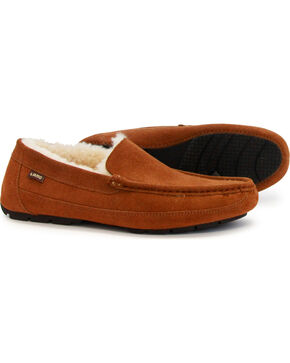 LAMO Men's Lewis Driving Mocs, Chestnut, hi-res