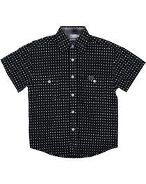 Panhandle Boys' Pattern Short Sleeve Shirt, , hi-res