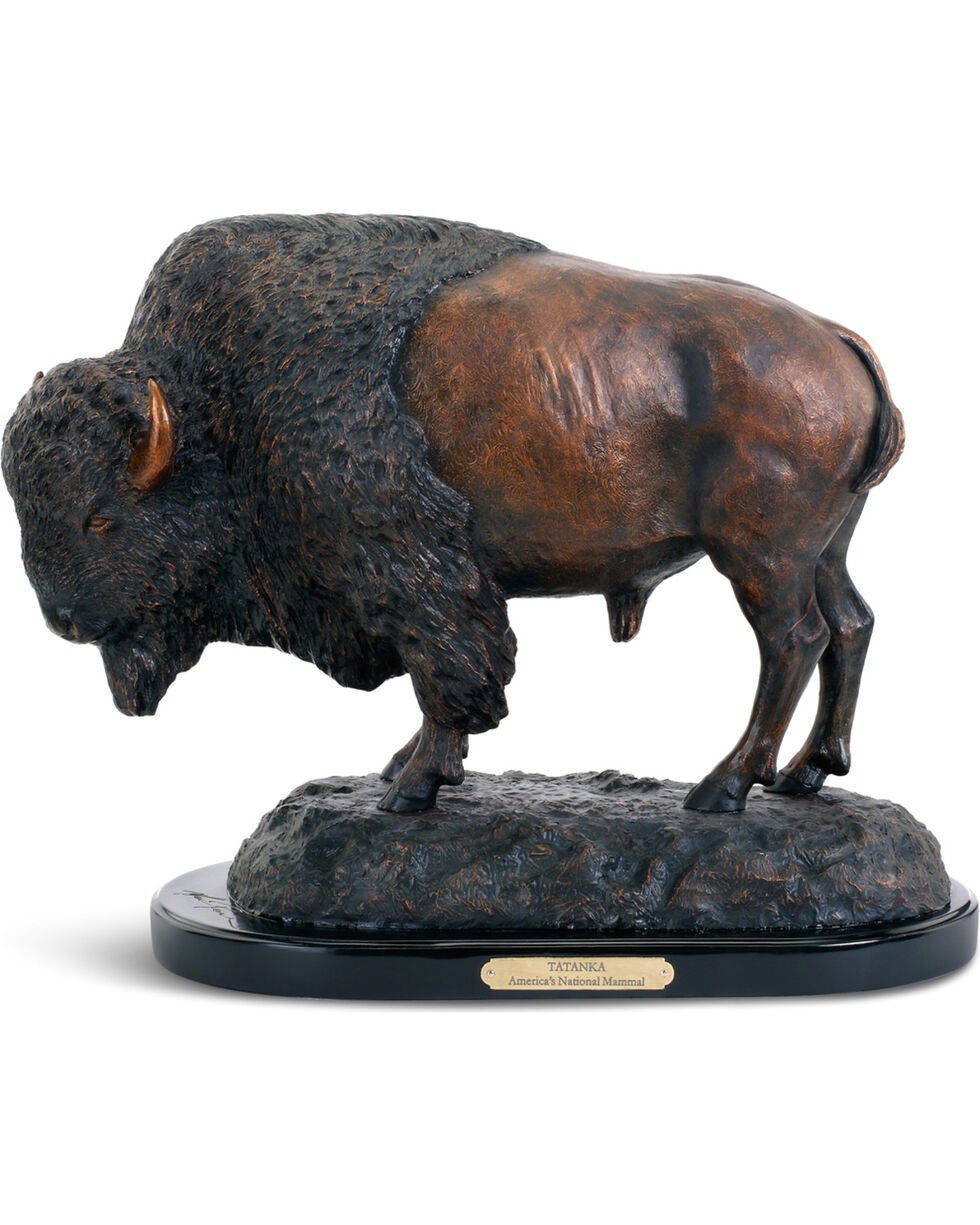 Demdaco by Big Sky Carvers Bronze Tatanka American Bison Sculpture , Bronze, hi-res