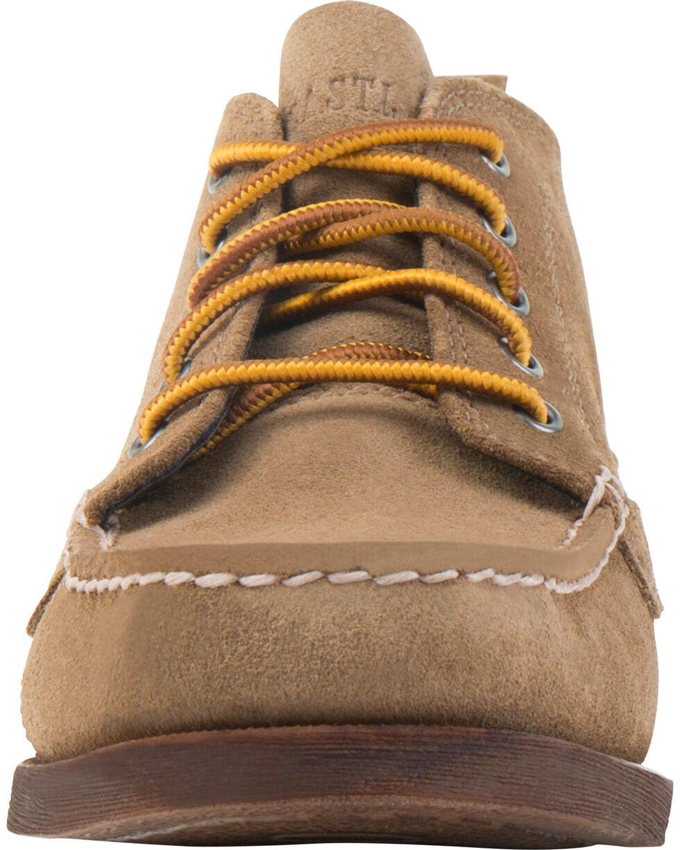 Eastland Women's Khaki Suede Seneca Camp Moc Chukka Boots, Tan, hi-res