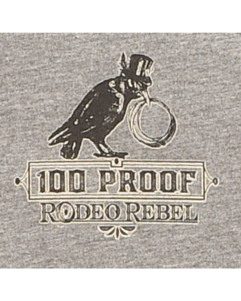 Rodeo Rebel Men's Bootleggers Distillery Graphic T-Shirt, Heather Grey, hi-res