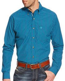 Ariat Men's Weaverly Pro Series Plaid Shirt, , hi-res